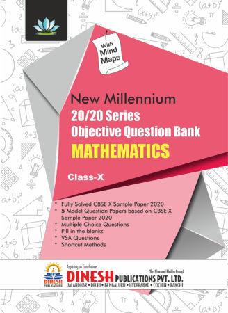 20/20 Series Objective Question Bank Mathematics Class 10