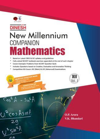 New Millennium Mathematics Class 12