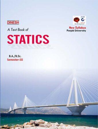 A Text Book of Statics B.A./B.Sc. Sem-III (Punjab University)