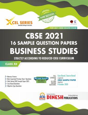 XCEL Series 16 Sample Question Papers- BUSINESS STUDIES Class 12 (CBSE 2021)