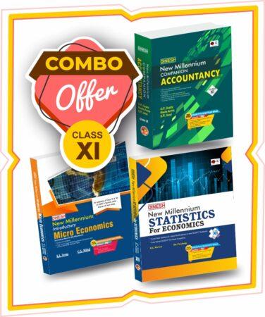 New Millennium Statistics & Micro Economics, Accountancy Combo Class 11