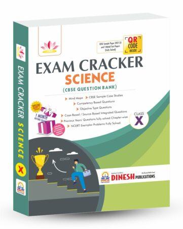 Exam Cracker Science Class 10 (CBSE Question Bank 2022)