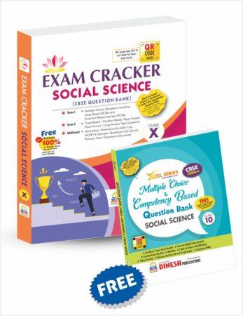 Exam Cracker Social Science Class 10 (CBSE Question Bank 2022)